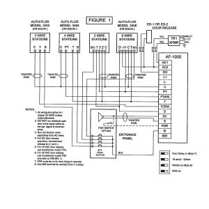4 Wire Intercom Wiring Diagram - Pacific Electronics 3404 4 Wire Plastic Inter Station Prepossessing Wiring Diagram 9o