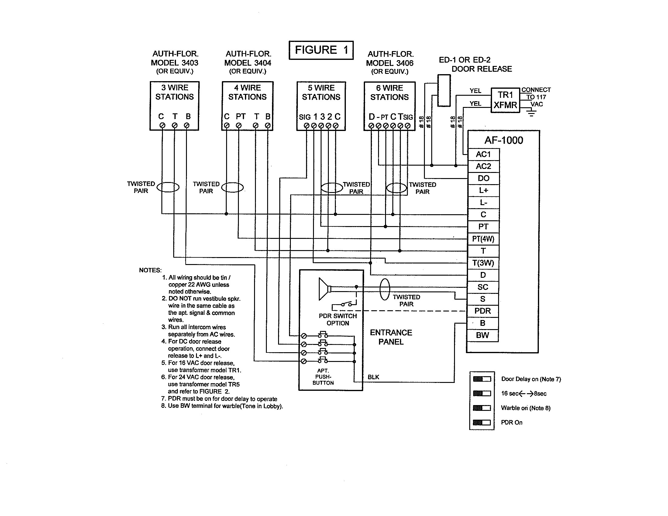 4 wire intercom wiring diagram Collection-Pacific Electronics 3404 4 Wire Plastic Inter Station Prepossessing Wiring Diagram 19-i