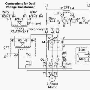 480 Volt to 120 Volt Transformer Wiring Diagram - 120 Transformer Wiring Diagram 480 to 120 Volt Transformer Wiring 17h