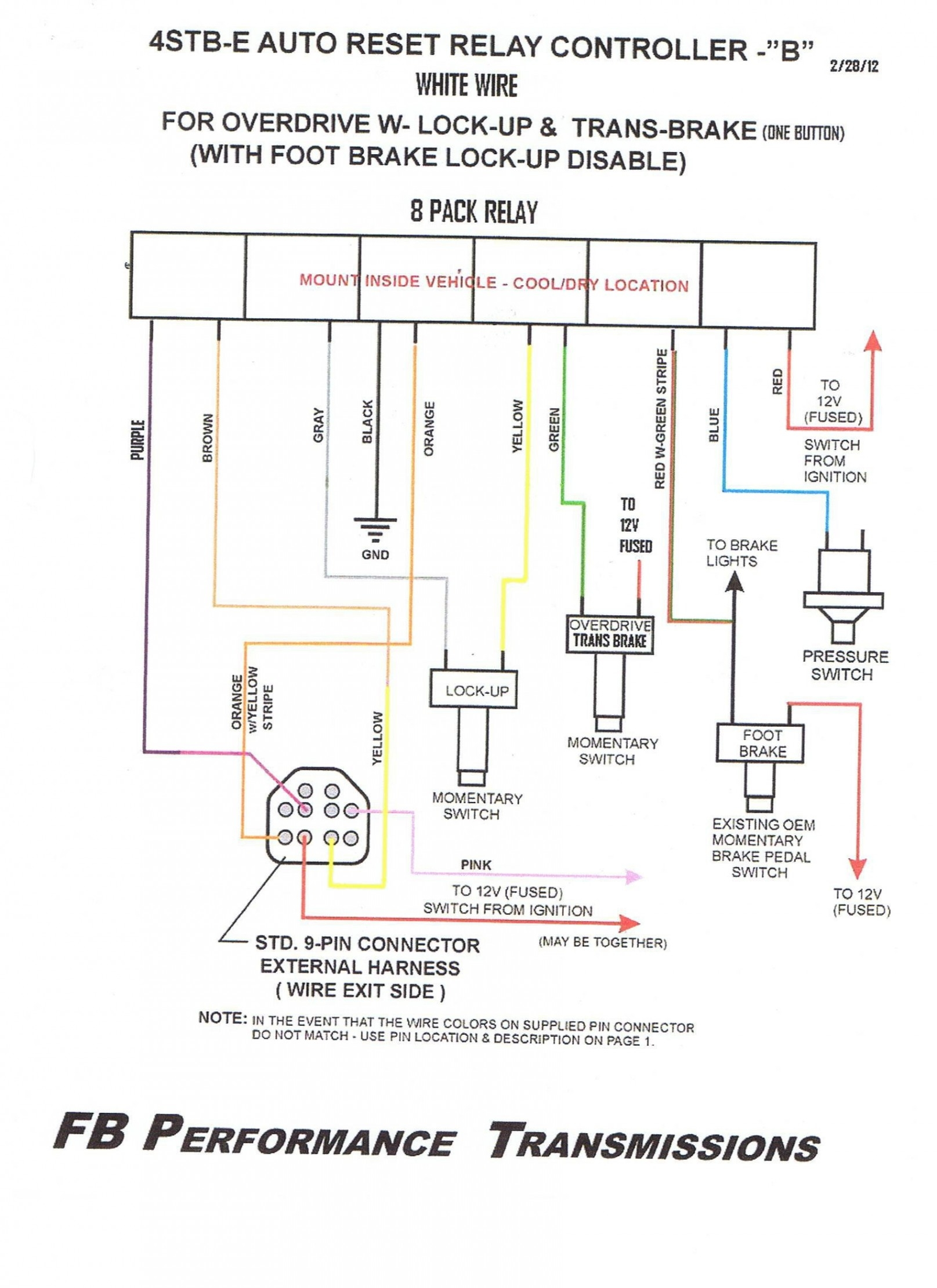 neutral safety relay wiring diagram ford c4 neutral safety switch wiring diagram