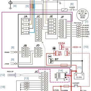 50 Amp Transfer Switch Wiring Diagram - Wiring Diagram for 20kw Generac Generator Inspirationa Wiring Diagram Backup Generator & Portable Generator Transfer 5h