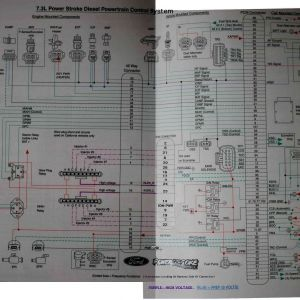 6.0 Powerstroke Injector Wiring Diagram - 6 0 Powerstroke Parts Diagram Best 02 California 7 3 Glow Plug 14i