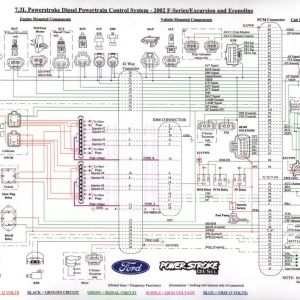 6.0 Powerstroke Injector Wiring Diagram - 7 3l Wiring Schematic Printable Very Handy Diesel forum Resume 49 Fresh Fuel Injector Wiring 12l