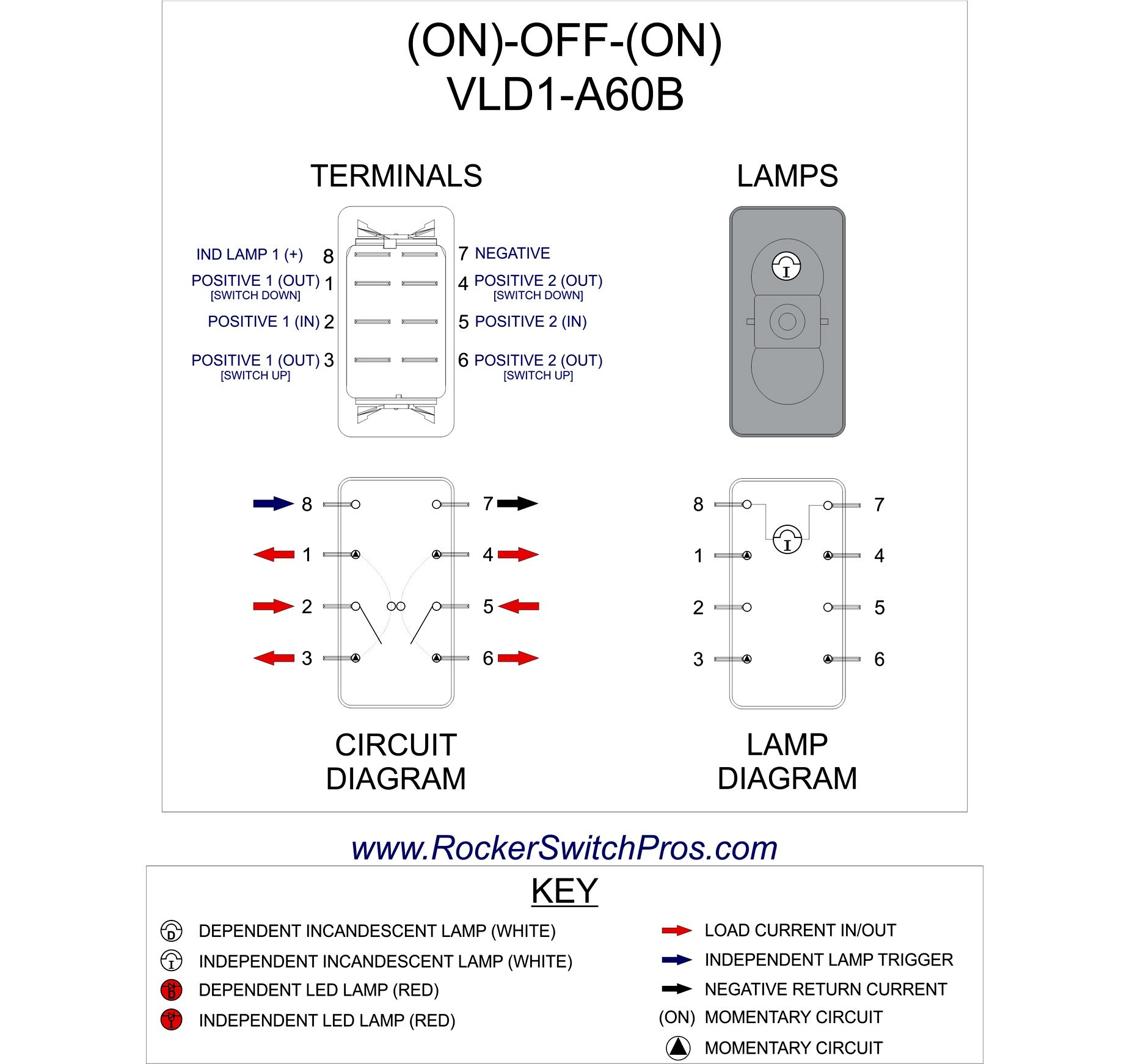 6 Pin Dpdt Switch Wiring Diagram