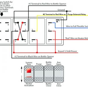 6 Pin Switch Wiring Diagram - 5 Pin Relay Wiring Schematic Window Electrical Drawing Wiring 19c