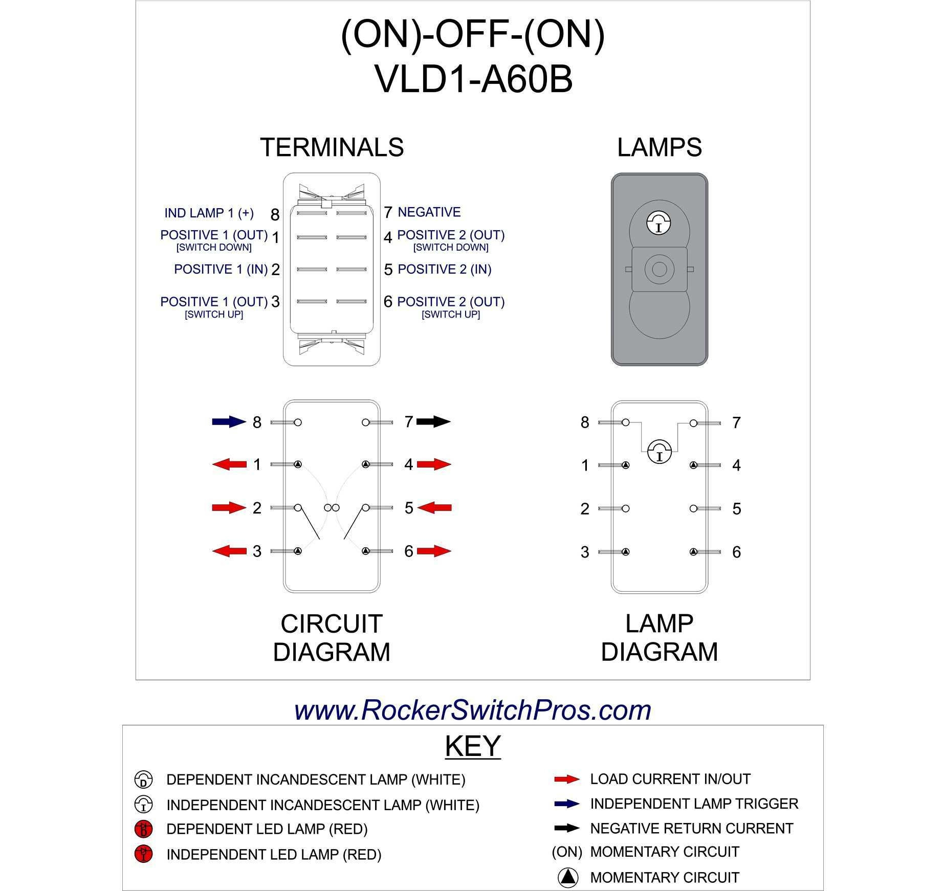 6 Pin Switch Wiring Diagram
