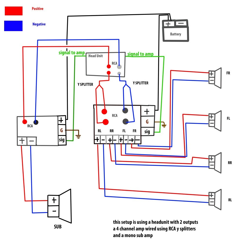 Subwoofer Wiring In House | Wiring Diagram on 4 channel momentary remote wiring diagram, 4 channel amplifier installation kit, 4 channel marine amps, 2 channel amp diagram, 4 channel car amp, sound system diagram, 1999 ford f-250 fuse box diagram, 4 channel amp 4 speakers 1 sub, guitar string diagram, bridged amp diagram, 4 channel audio amplifier, 4 channel keyboard amps, bridging 4 channel amp diagram,