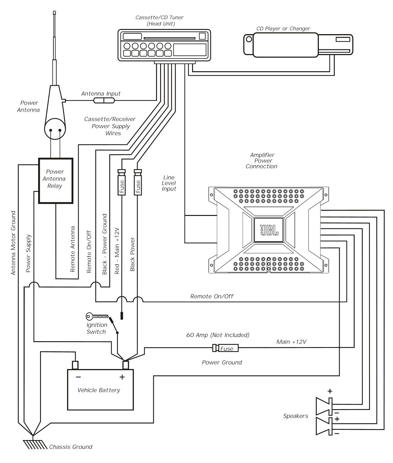 WRG-7489] Amp Speaker Wiring Diagrams 6 on