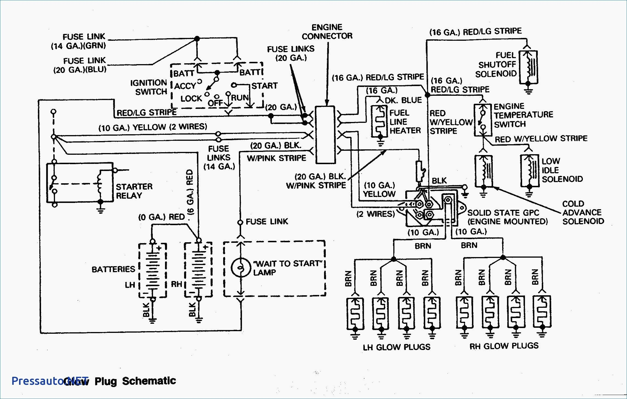 7.3 powerstroke glow plug relay wiring diagram Download-Wiring Diagram Glow Plug Relay 7 3 Valid 7 3 Glow Plug Wiring Wiring Diagram Library • 1-n