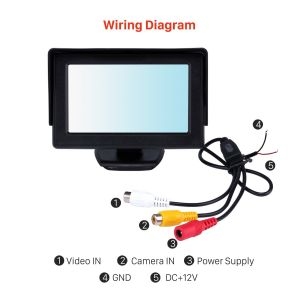 7 Tft Lcd Monitor Wiring Diagram - Wiring Diagram for Rear View Camera Free Wiring Diagram Rh Xwiaw Us Tft Lcd Monitor Manual Tft Lcd Backup Camera Wiring 5l