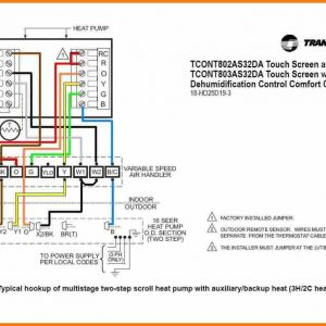 7 Wire thermostat Wiring Diagram - Heat Pump Wiring Diagram Download Heat Pump Wiring Diagrams Goodman Wire Colors thermostat Diagram 7 15k