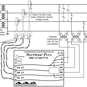 75 Kva Transformer Wiring Diagram - 75 Kva Transformer Wiring Diagram Collection Using Potential Transformers Continental Control Systems with Arresting 75 9d