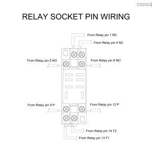 8 Pin Ice Cube Relay Wiring Diagram - 8 Pin Relay Wiring Diagram New Blade Dpdt at Tryit 17r