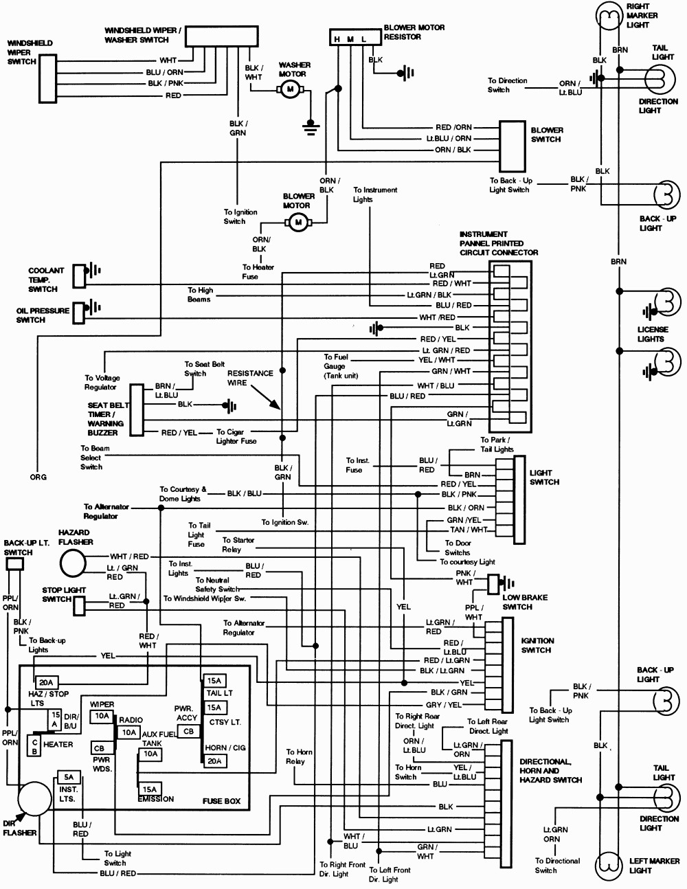 89 Mustang Radio Wiring Diagram Free Wire Harness