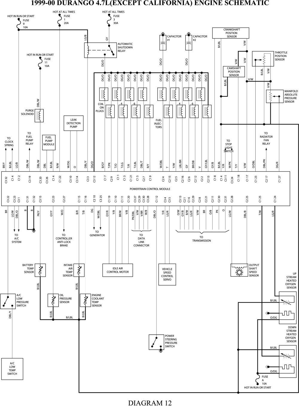 99 dodge durango wiring diagram Download-2001 dodge durango wiring diagram besides dodge ram wiring diagram rh jamairline co 1999 Dodge Durango 16-m