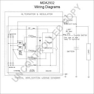 Ac Delco Alternator Wiring Diagram - Ac Delco Alternator Wiring Diagram Mda2932 Wiring Diagram 12k
