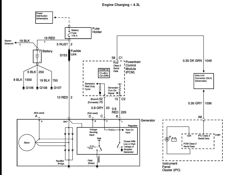 Ac Delco Alternator Wiring Diagram | Free Wiring Diagram