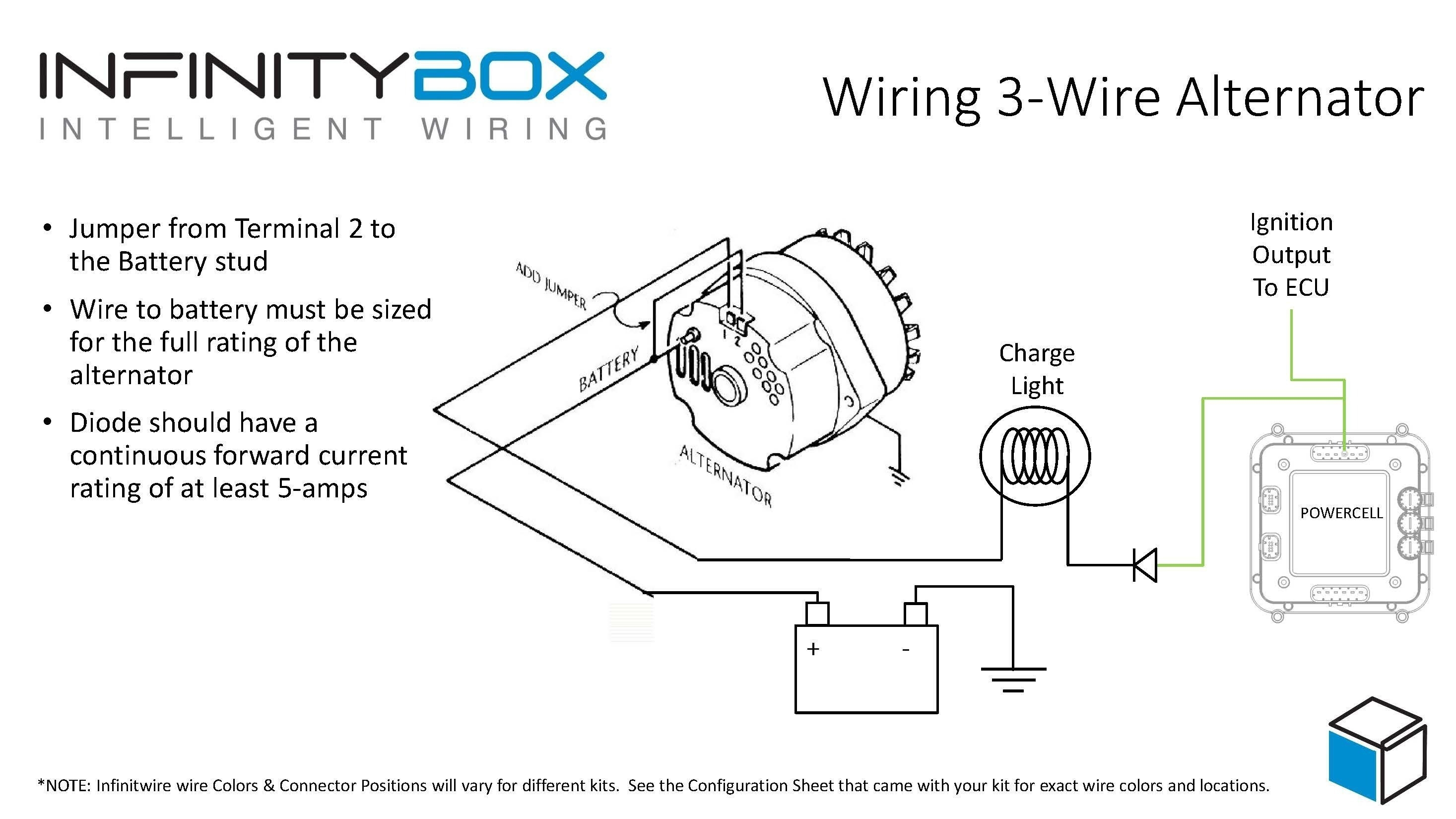 Ac Delco Alternator Wiring Diagram