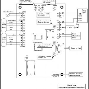 Access Control System Wiring Diagram - Access Control Card Reader Wiring Diagram Door Access Control System Wiring Diagram Schematics and Diagrams 9d