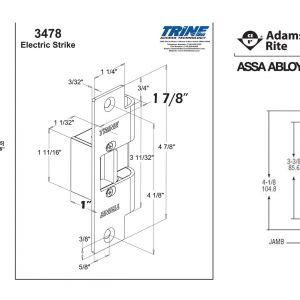 Adams Rite Electric Strike Wiring Diagram - Wiring Diagram for Magnetic Door Lock Fresh Hes 5000 Series Electric Strike Wiring Diagram 10q