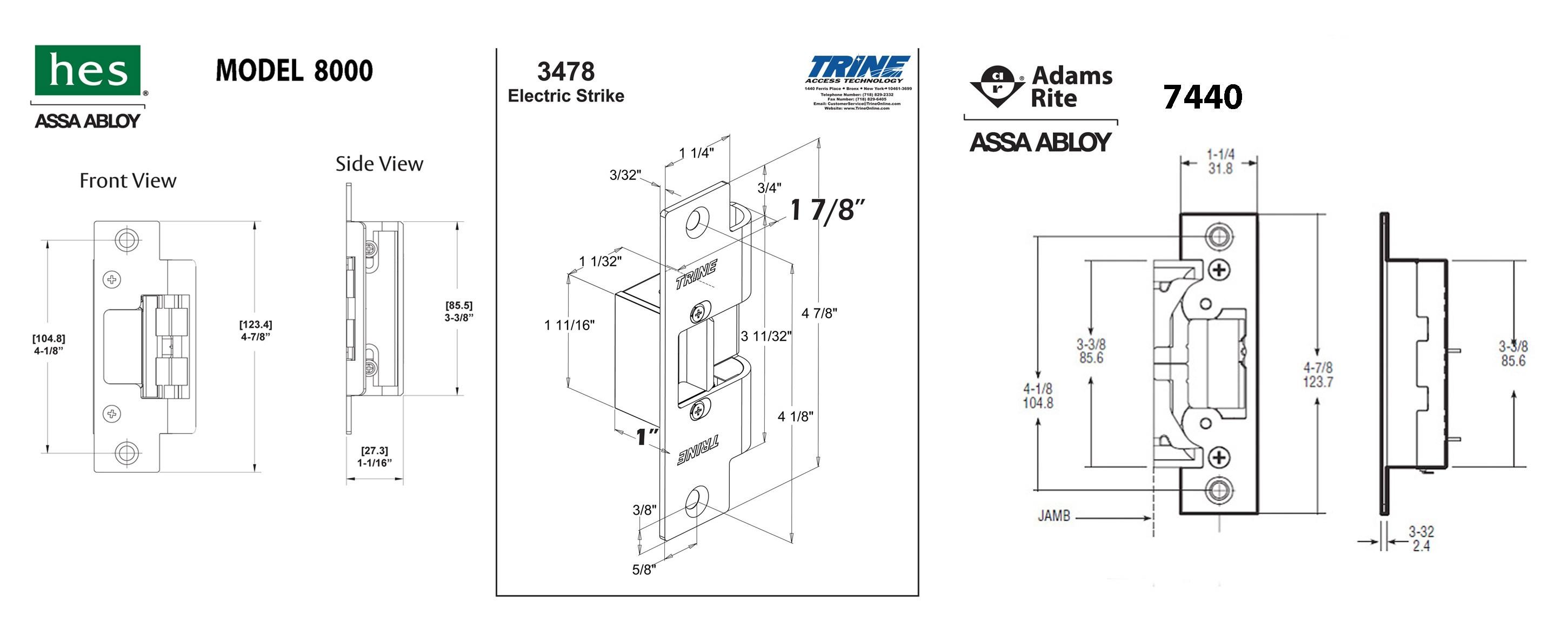 adams rite electric strike wiring diagram Collection-Wiring Diagram for Magnetic Door Lock Fresh Hes 5000 Series Electric Strike Wiring Diagram 11-f