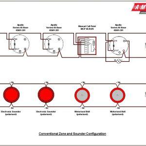Addressable Fire Alarm System Wiring Diagram - Class A Fire Alarm System Wiring Diagram S and Addressable Smoke Detector 9 14t