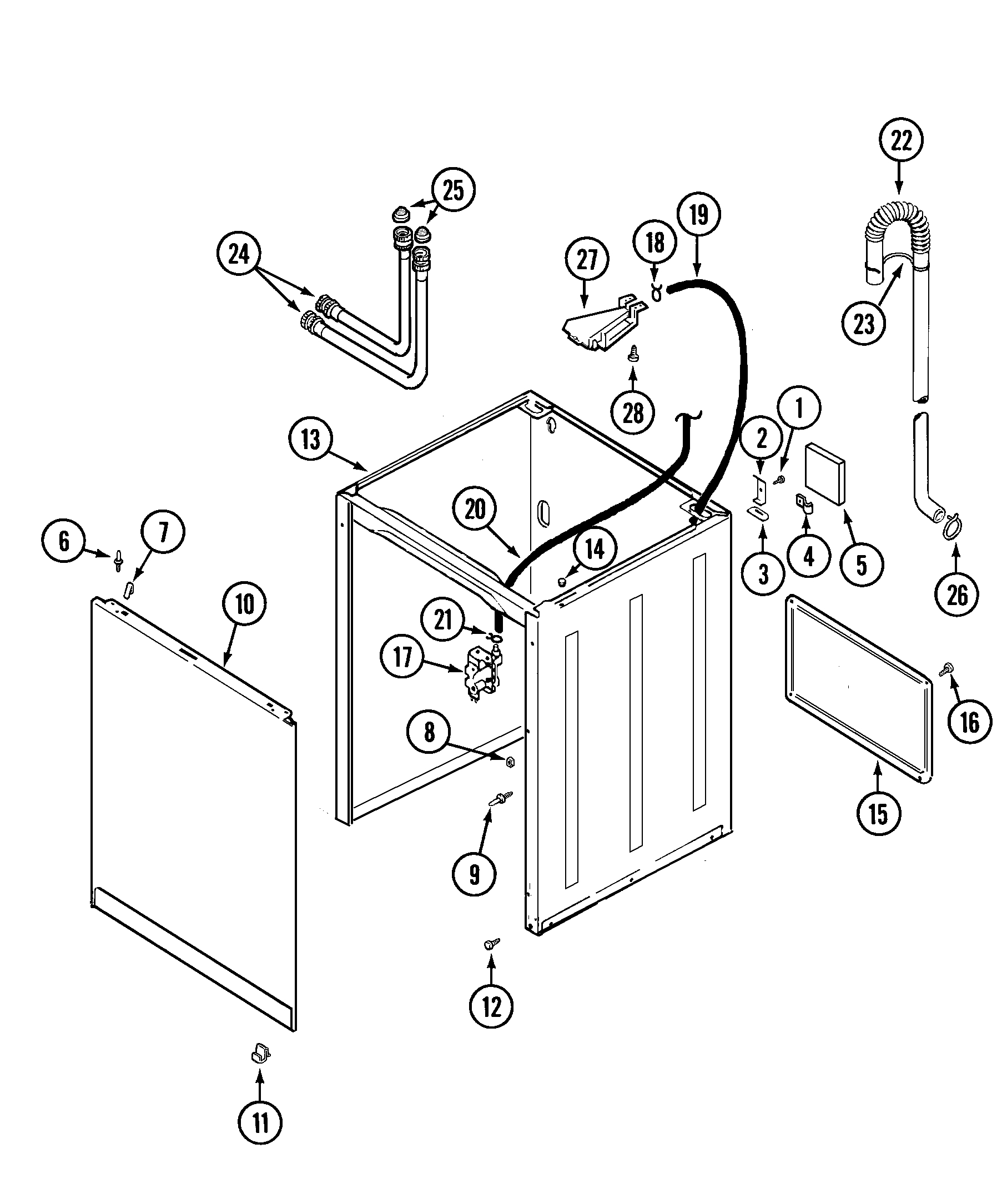 admiral dryer wiring diagram Download-Admiral Dryer Parts Diagram Best Admiral Model Lnc6764a71 Residential Washers Genuine Parts 3-k