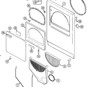 Admiral Dryer Wiring Diagram - Admiral Dryer Parts Diagram Fresh Maytag Admiral Laundry Parts Model Ayg2200agw 14d