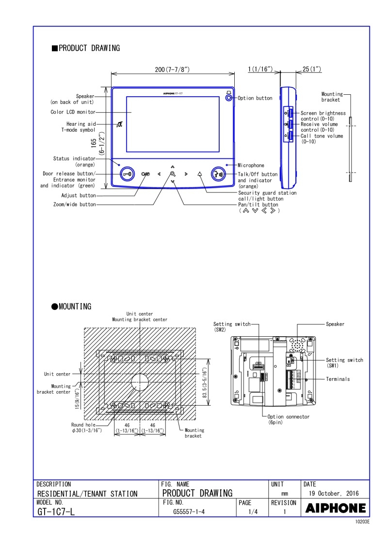 aiphone gt 1c7 wiring diagram Collection-gt 1c7 wiring diagram Pics below Index Acrobat AiPhone Brochure Index Acrobat AiPhone Brochure 10-o