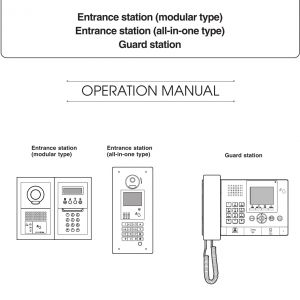 AiPhone Gt 1c7 Wiring Diagram - Page 1 Of Gtdmbn Gt Apartment Inter System User Manual Eng Gt Dmb Mkb 17 05 29 1s