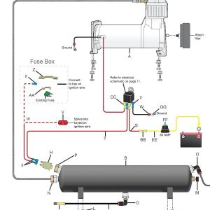 Air Bag Suspension Wiring Diagram - Wiring Diagram for Air Ride and Suspension 5m