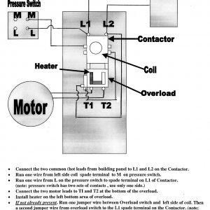 Air Compressor Wiring Diagram 230v 1 Phase - Air Pressor Wiring Diagram 230v 1 Phase Download 20p