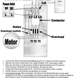 Air Compressor Wiring Diagram 230v 1 Phase - Three Phase Wiring Diagrams Three Phase Air Pressor Wiring 10r
