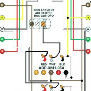 Air Conditioner thermostat Wiring Diagram | Free Wiring Diagram