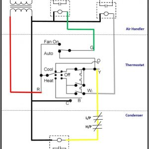 Air Conditioner thermostat Wiring Diagram - Wiring A Ac thermostat Diagram Save Air Conditioner thermostat Wiring Diagram Air Conditioner thermostat 8l
