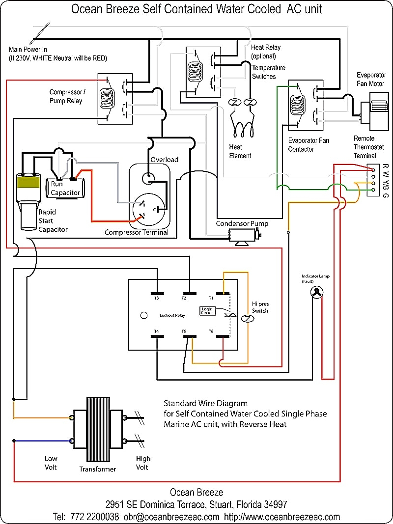 Air Handler Fan Relay Wiring Diagram | Free Wiring Diagram