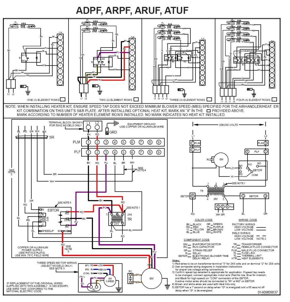 Air Handler Fan Relay Wiring Diagram