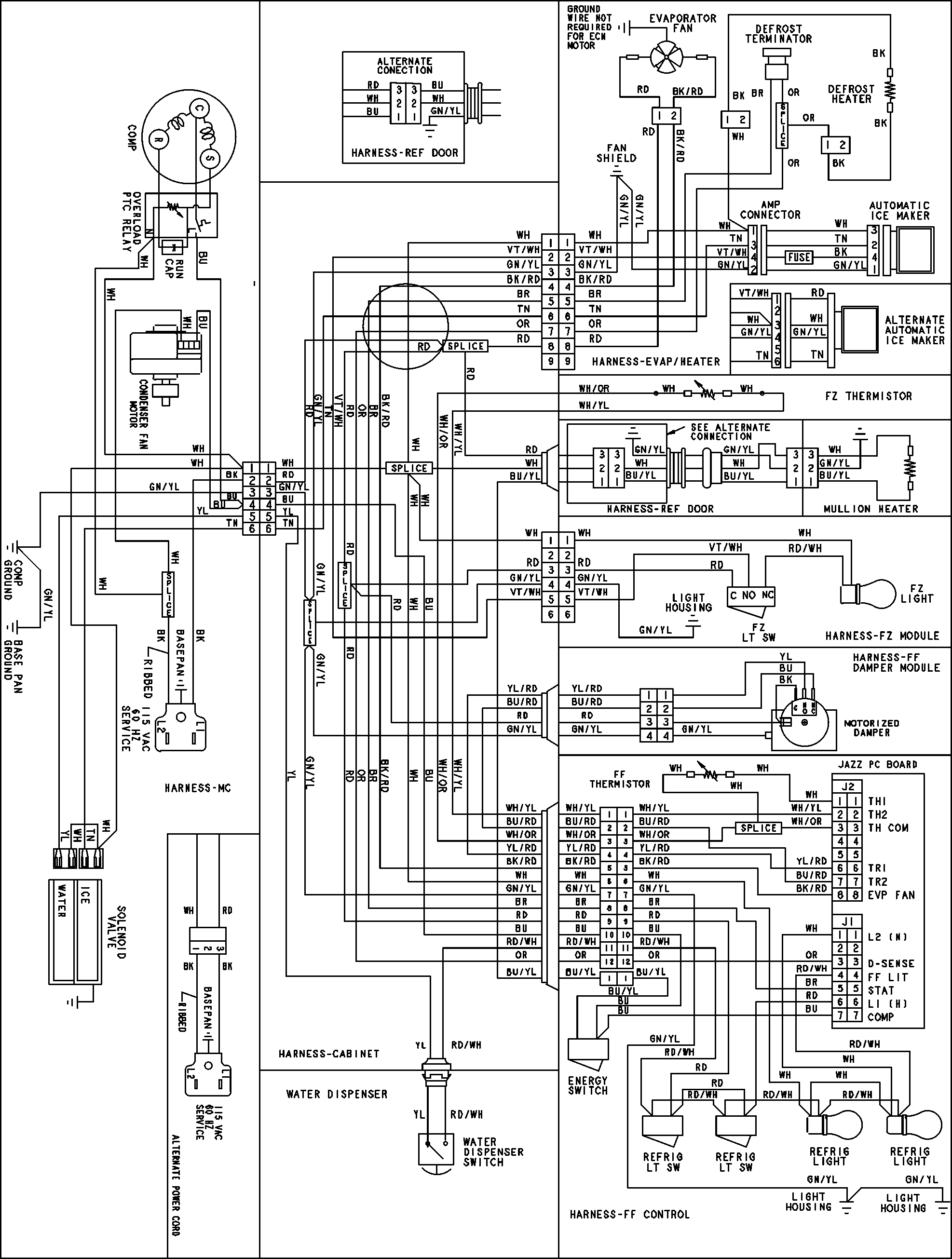 amana ptac wiring diagram | free wiring diagram amana clothes dryer wiring diagrams