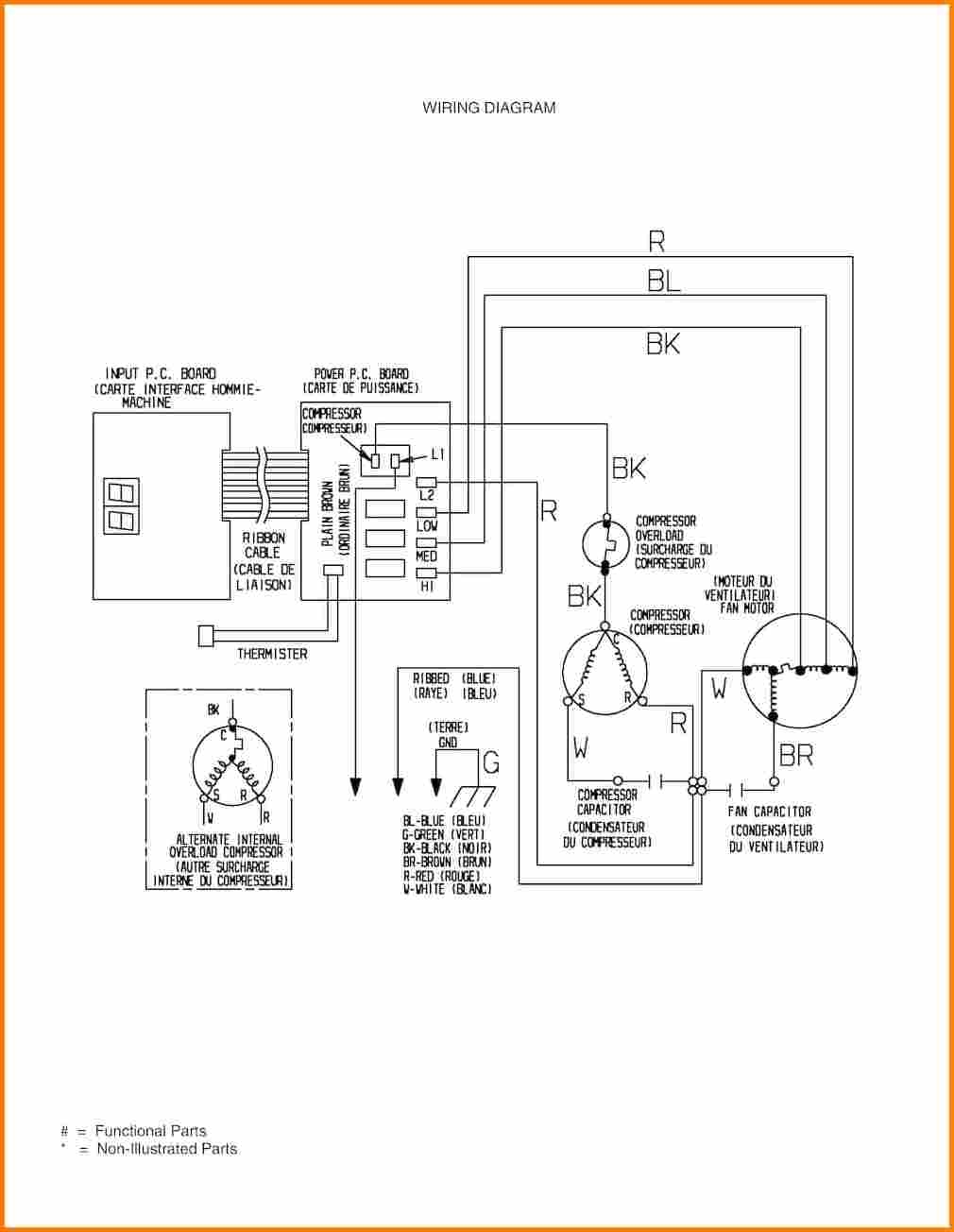 Amana Air Conditioner Wiring Diagram