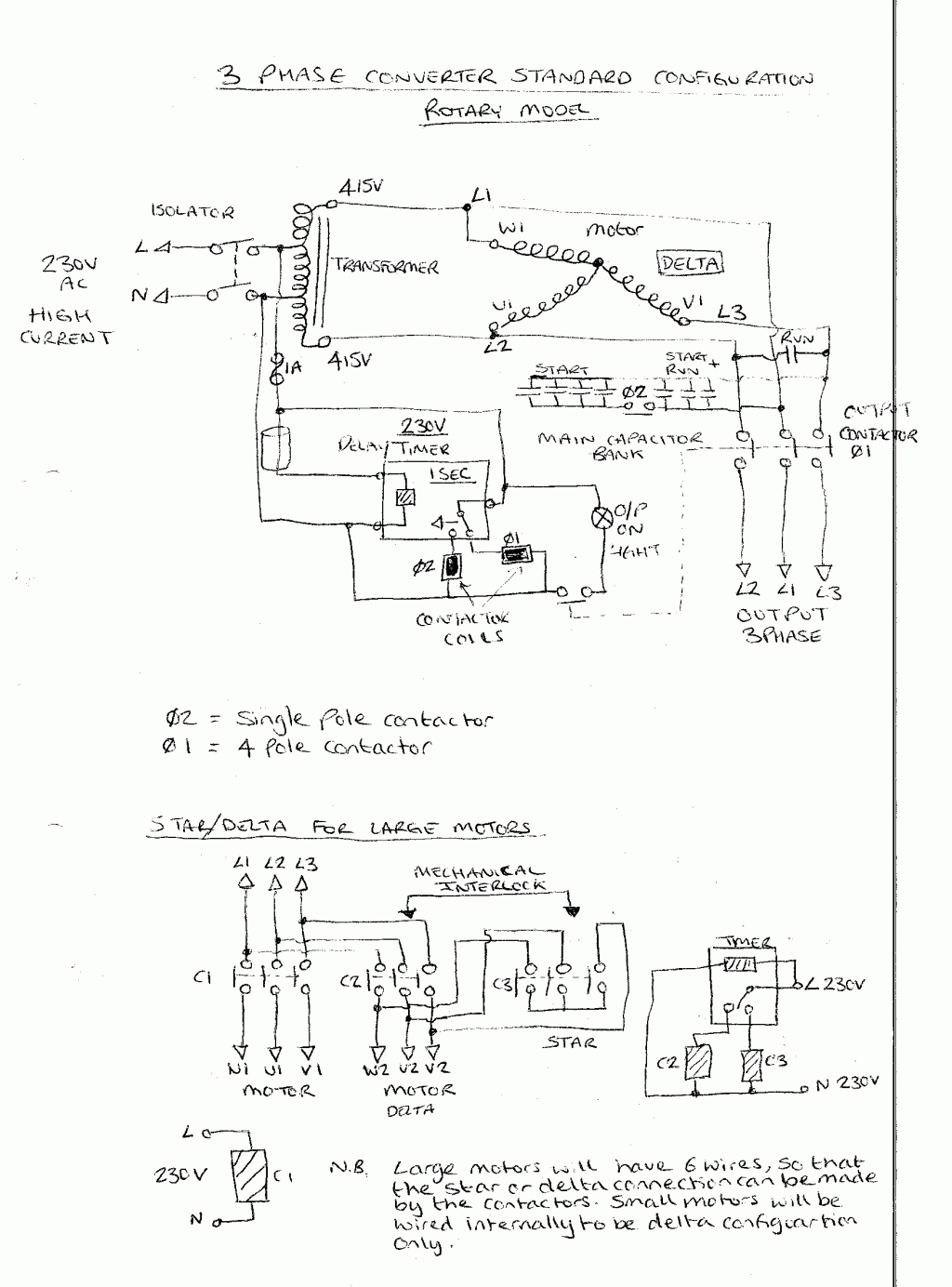 wiring diagram rotary phase converter wiring diagram rotary phase Capacitive Sensor Diagram roto phase converter wiring diagram wiring library