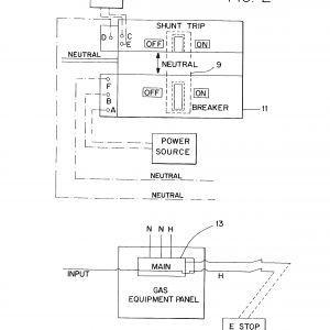 Ansul System Wiring Diagram - Shunt Breaker Wiring Diagram Fresh Ansul System Wiring Diagram Enticing Model Shunt Trip Hvac 20s