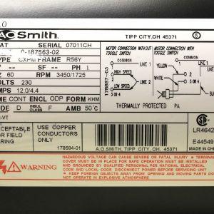 Ao Smith 2 Speed Motor Wiring Diagram - Wiring Diagram Ao Smith Motor New Gould Motor Wiring Diagram Best Rh Gidn Co 11n