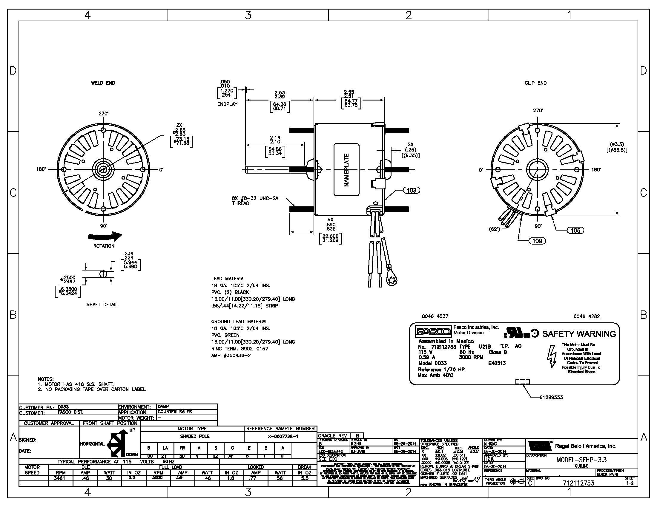 Ao Smith 2 Sd Motor Wiring Diagram | Free Wiring Diagram on