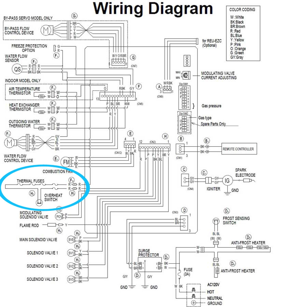 ao smith water heater thermostat wiring diagram
