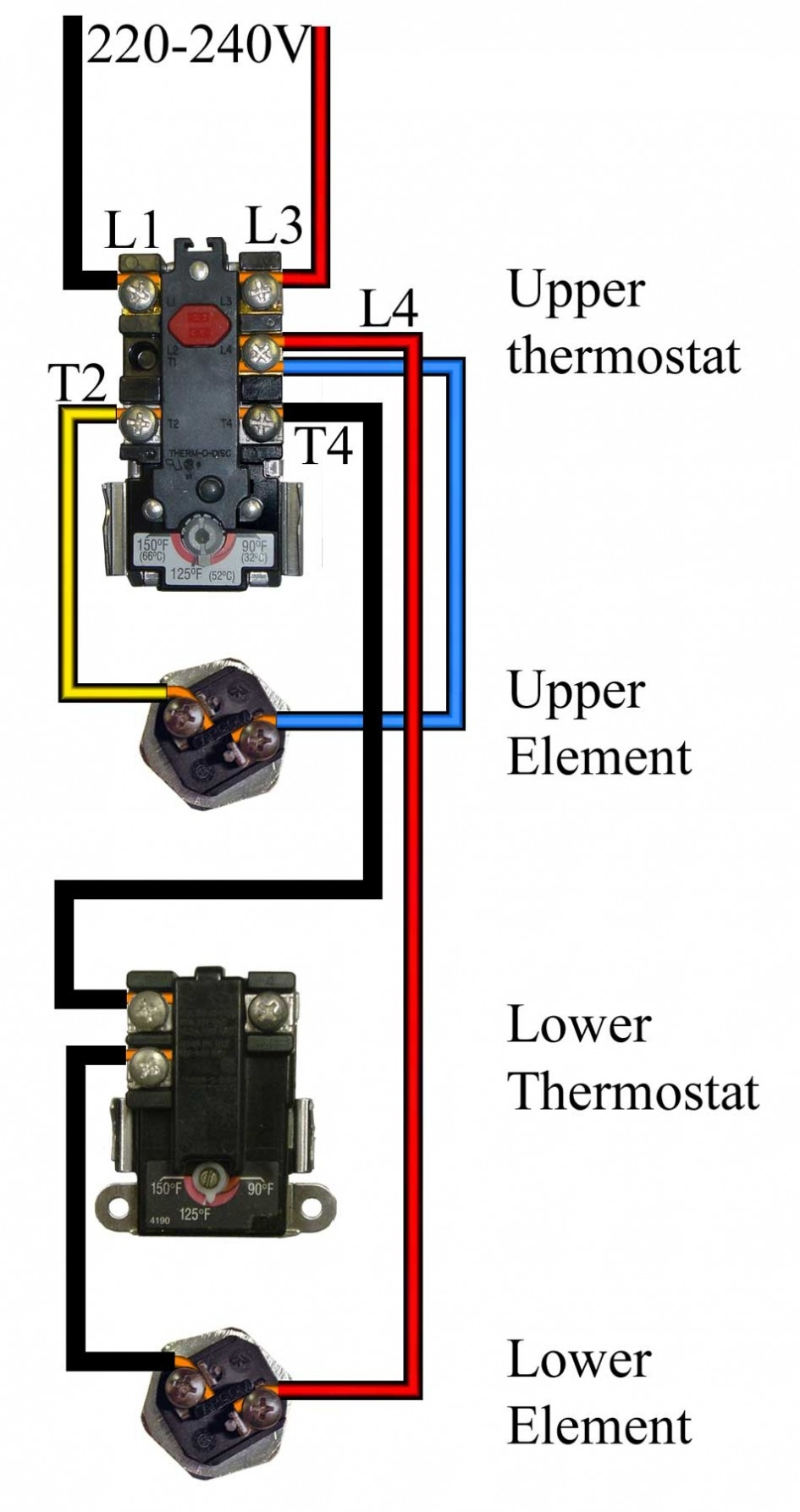 Ao Smith Water Heater Thermostat Wiring Diagram Wiring Diagram
