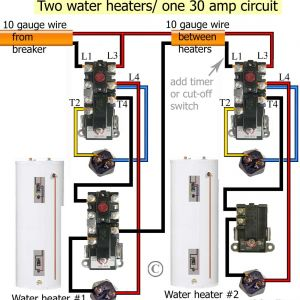 Ao Smith Water Heater thermostat Wiring Diagram - Rheem Electric Water Heater Wiring Diagram New How to Wire Water Heater thermostats 6g