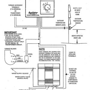 Aprilaire 700 Wiring Diagram - Aprilaire 700 Wiring Diagram 12l