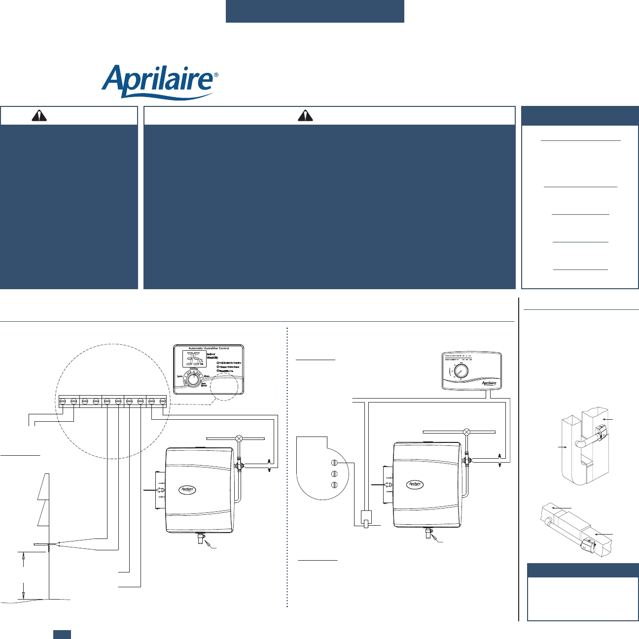 Diagram Aprilaire Model 600 Wiring Diagram