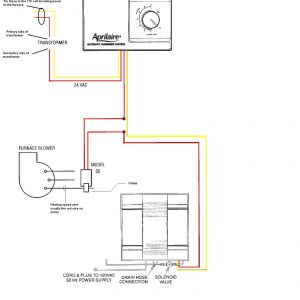 Aprilaire Wiring Diagram - Aprilaire Wiring Diagram Wiring Diagram for Humidifier Wiring Auto Wiring Diagrams Instructions 6q