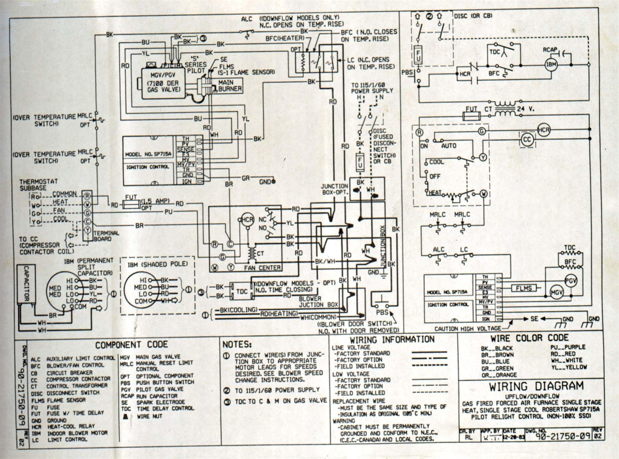 Armstrong Air Handler Wiring Diagram | Free Wiring Diagram